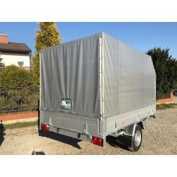 Przyczepa samochodowa platforma 300x150 EURO A-750/F1  PLATFORMA